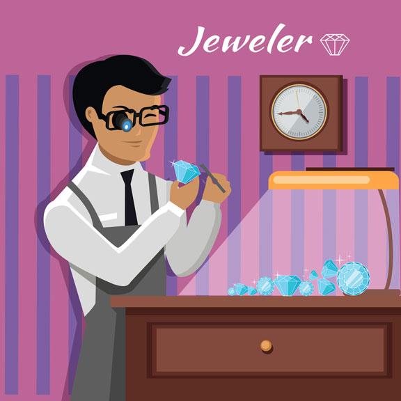 diamond appraisal by a jeweler