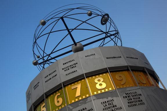 atomic clock in Berlin, Germany