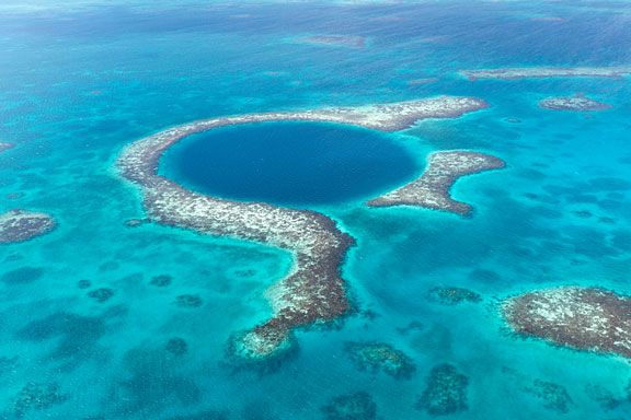 Blue Hole near Belize