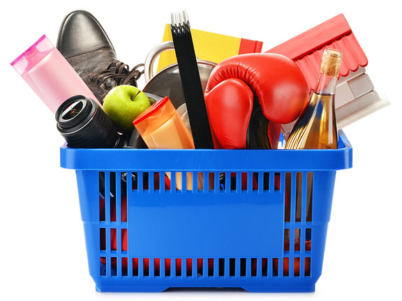 basket of consumer goods
