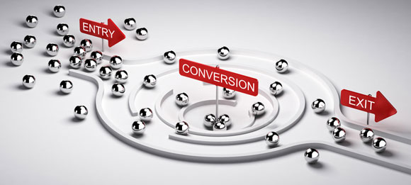marketing conversion concept