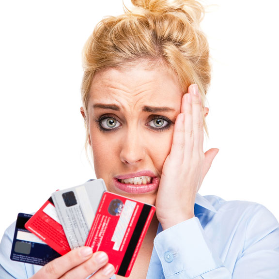 credit card debt worries
