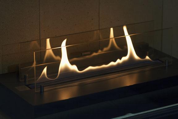 brass electric fireplace
