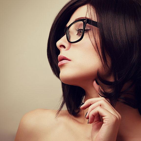 fashionable eyewear