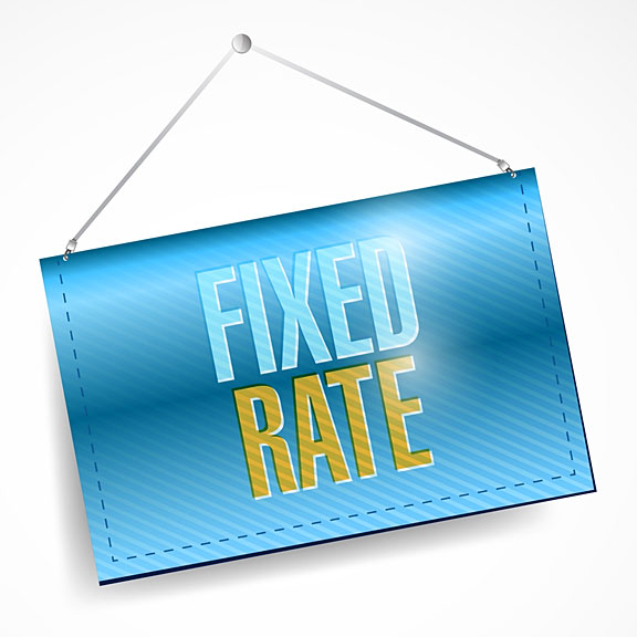 fixed interest rate banner