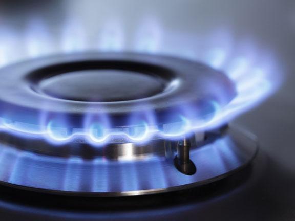 gas burner flames