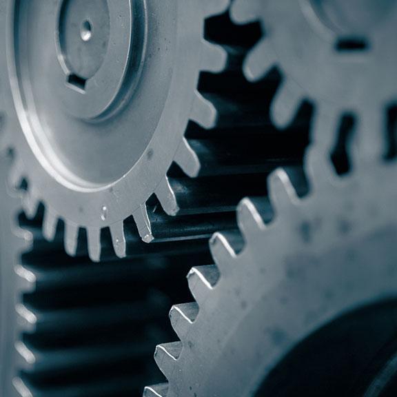 gears in a motor
