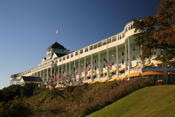 Grand Hotel in Mackinac, Michigan