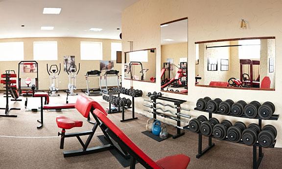 modern indoor gym facilities