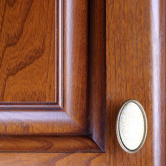 kitchen cabinet door and handle
