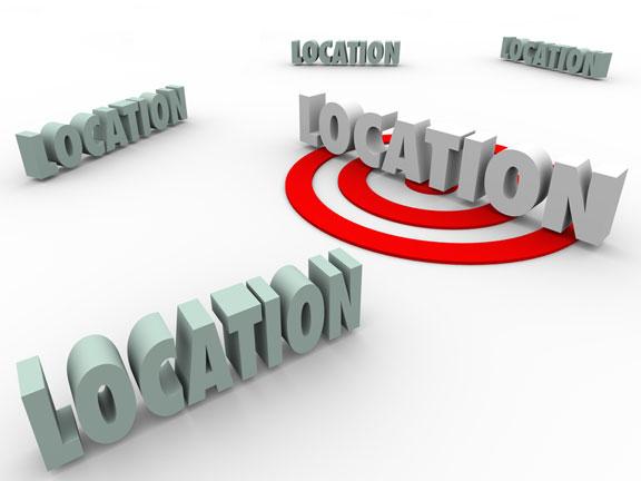 five location alternatives