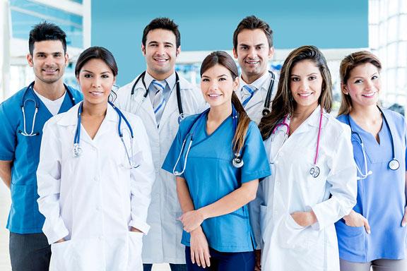 medical hospital personnel