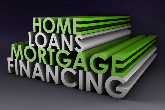 3d extrusion: home loans - mortgage financing