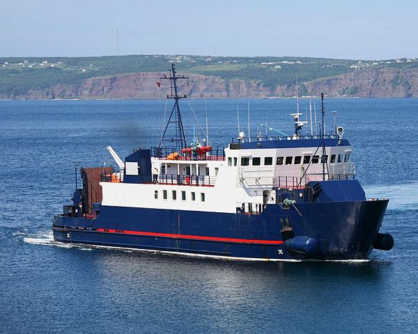Newfoundland ferry boat