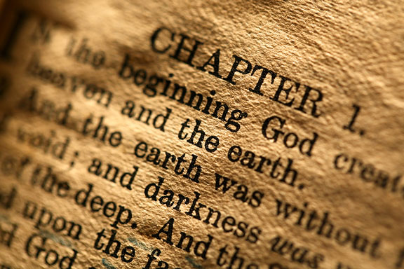beginning of the Old Testament