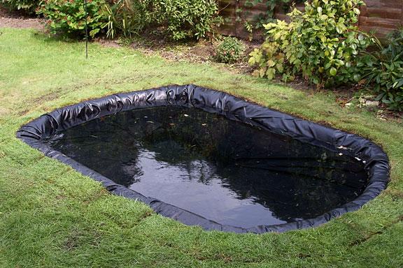 butyl rubber pond liner