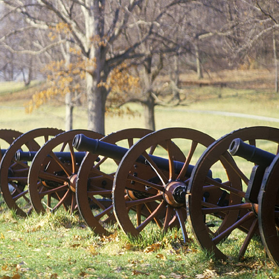 cannon at Valley Forge, Pennsylvania