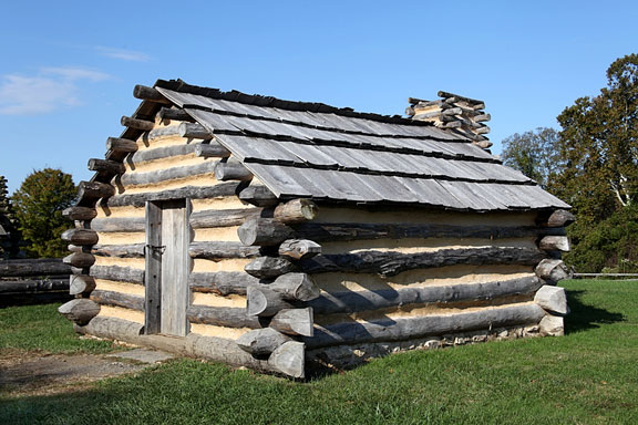 revolutionary war cabin