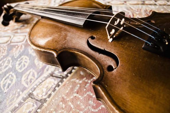 vintage stringed instrument