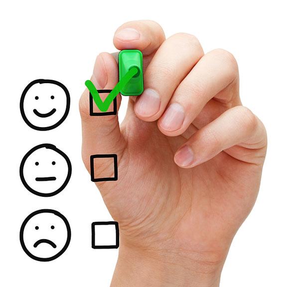 customer service survey response