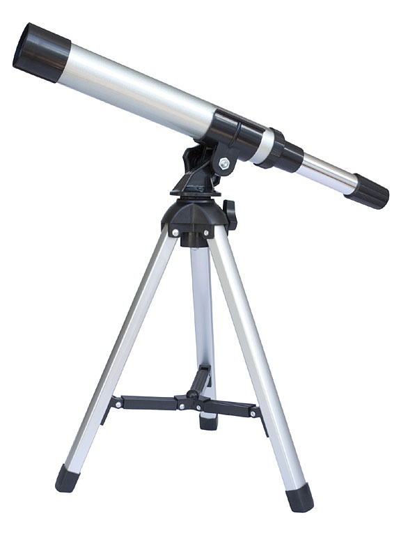 telescope, isolated on white