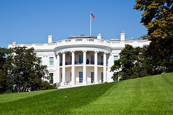 the White House - official residence of POTUS