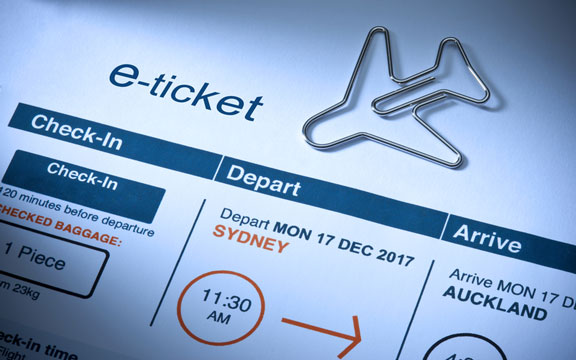 electronic airline ticket
