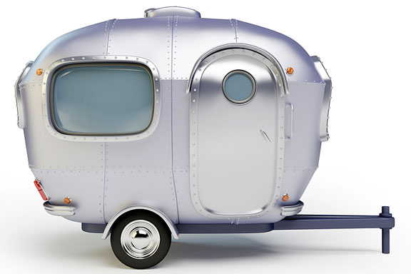 aerodynamic aluminum trailer