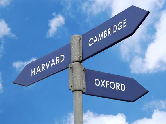 three famous universities