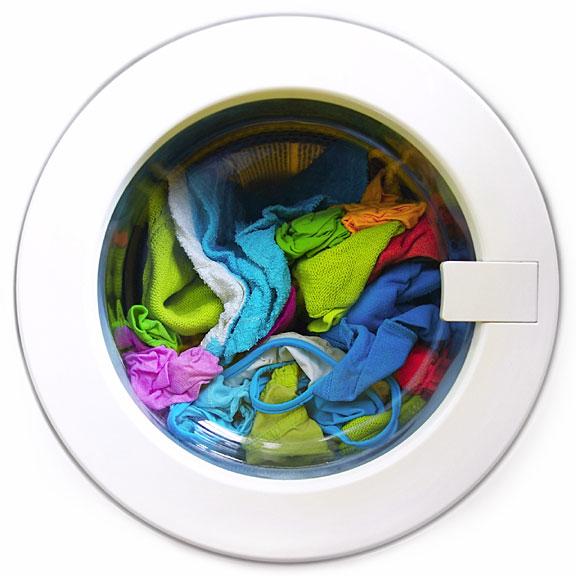 glass washing machine door and handle